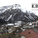 Wetter Kleinwalsertal Mittelberg am 02.04.2016