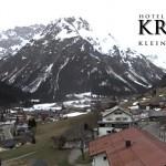 Wetter Kleinwalsertal Mittelberg am 05.04.2016