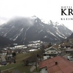 Wetter Kleinwalsertal Mittelberg am 07.04.2016