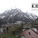 Wetter Kleinwalsertal Mittelberg am 14.04.2016