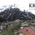 Wetter Kleinwalsertal Mittelberg am 15.04.2016