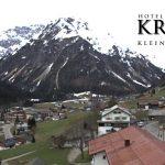 Wetter Kleinwalsertal Mittelberg am 16.04.2016