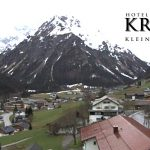 Wetter Kleinwalsertal Mittelberg am 17.04.2016
