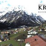 Wetter Kleinwalsertal Mittelberg am 18.04.2016