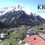 Wetter Kleinwalsertal Mittelberg am 05.05.2016