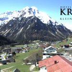 Wetter Kleinwalsertal Mittelberg am 06.05.2016