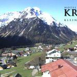 Wetter Kleinwalsertal Mittelberg am 07.05.2016