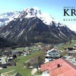 Wetter Kleinwalsertal Mittelberg am 08.05.2016