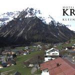 Wetter Kleinwalsertal Mittelberg am 09.05.2016
