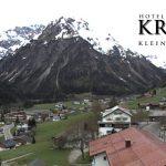 Wetter Kleinwalsertal Mittelberg am 10.05.2016