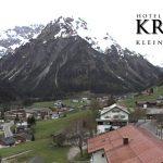 Wetter Kleinwalsertal Mittelberg am 11.05.2016