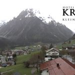 Wetter Kleinwalsertal Mittelberg am 13.05.2016
