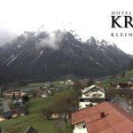 Wetter Kleinwalsertal Mittelberg am 15.05.2016