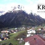 Wetter Kleinwalsertal Mittelberg am 18.05.2016