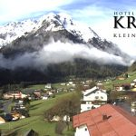 Wetter Kleinwalsertal Mittelberg am 20.05.2016