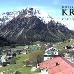 Wetter Kleinwalsertal Mittelberg am 21.05.2016