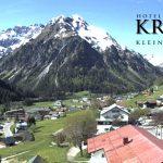 Wetter Kleinwalsertal Mittelberg am 22.05.2016