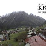 Wetter Kleinwalsertal Mittelberg am 24.05.2016