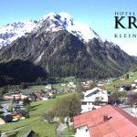 Wetter Kleinwalsertal Mittelberg am 25.05.2016
