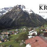 Wetter Kleinwalsertal Mittelberg am 27.05.2016