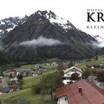 Wetter Kleinwalsertal Mittelberg am 30.05.2016