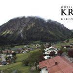 Wetter Kleinwalsertal Mittelberg am 31.05.2016