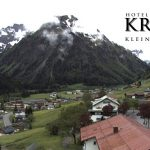 Wetter Kleinwalsertal Mittelberg am 01.06.2016