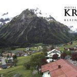 Wetter Kleinwalsertal Mittelberg am 04.06.2016