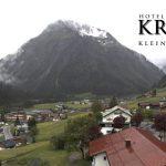 Wetter Kleinwalsertal Mittelberg am 05.06.2016