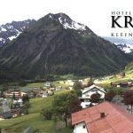 Wetter Kleinwalsertal Mittelberg am 08.06.2016