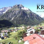 Wetter Kleinwalsertal Mittelberg am 10.06.2016