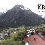 Wetter Kleinwalsertal Mittelberg am 12.06.2016