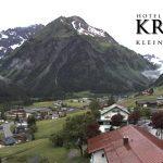Wetter Kleinwalsertal Mittelberg am 13.06.2016