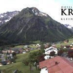 Wetter Kleinwalsertal Mittelberg am 15.06.2016