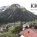 Wetter Kleinwalsertal Mittelberg am 16.06.2016
