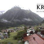 Wetter Kleinwalsertal Mittelberg am 17.06.2016