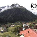 Wetter Kleinwalsertal Mittelberg am 20.06.2016