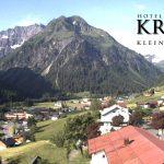 Wetter Kleinwalsertal Mittelberg am 25.06.2016