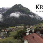 Wetter Kleinwalsertal Mittelberg am 27.06.2016