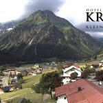Wetter Kleinwalsertal Mittelberg am 30.06.2016