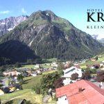 Wetter Kleinwalsertal Mittelberg am 01.07.2016