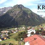 Wetter Kleinwalsertal Mittelberg am 02.07.2016