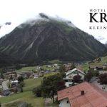 Wetter Kleinwalsertal Mittelberg am 03.07.2016