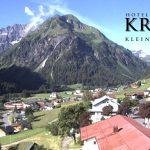 Wetter Kleinwalsertal Mittelberg am 04.07.2016