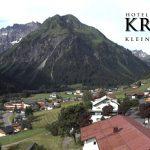 Wetter Kleinwalsertal Mittelberg am 05.07.2016