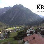 Wetter Kleinwalsertal Mittelberg am 09.07.2016