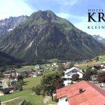 Wetter Kleinwalsertal Mittelberg am 11.07.2016