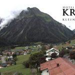 Wetter Kleinwalsertal Mittelberg am 13.07.2016