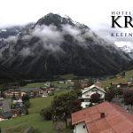 Wetter Kleinwalsertal Mittelberg am 15.07.2016