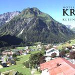 Wetter Kleinwalsertal Mittelberg am 18.07.2016